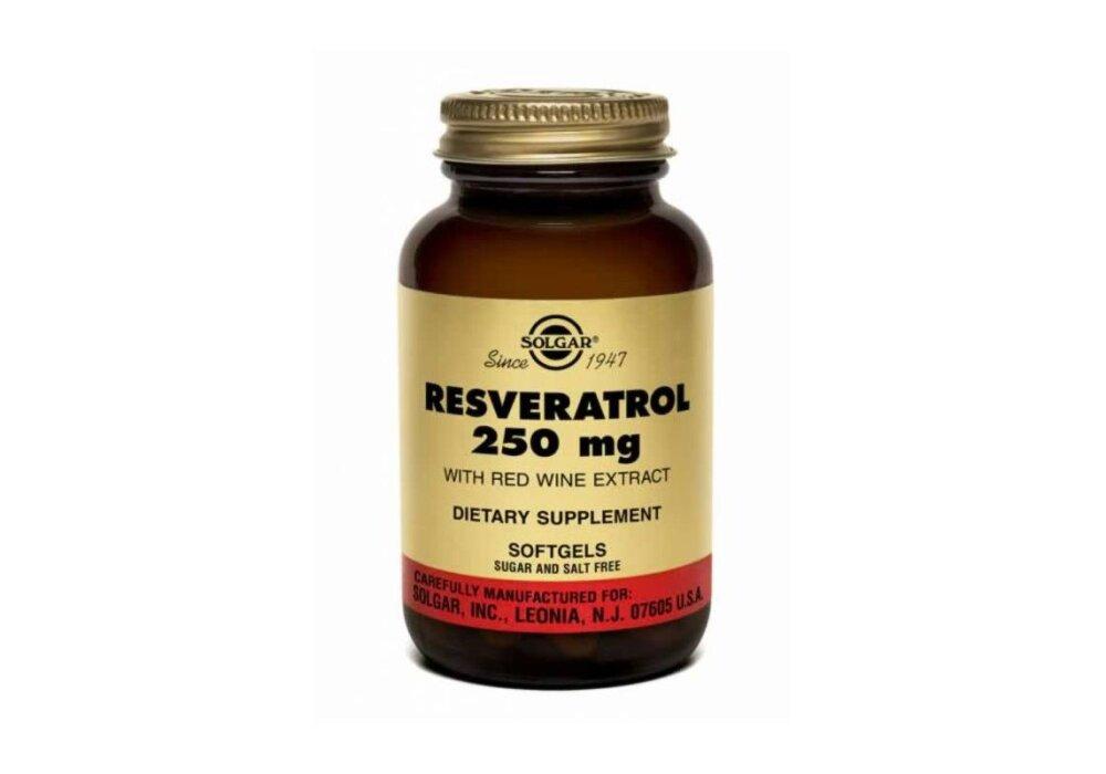 Solgar Resveratrol 250mg 30softgels