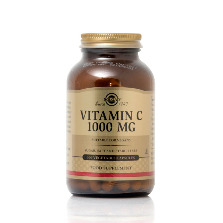 Vitamin C Supplement Adult 1000mg 100 veg.caps 100s