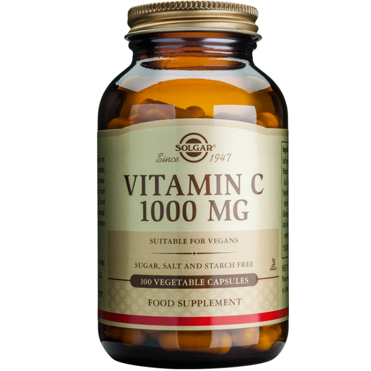 Solgar Vitamin C 1000mg 100veg. caps