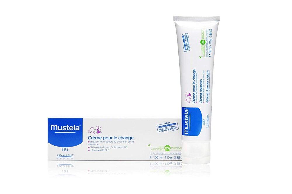 Mustela 123 Vitamin Barrier Cream, Κρέμα Αλλαγής Πάνας 100ml