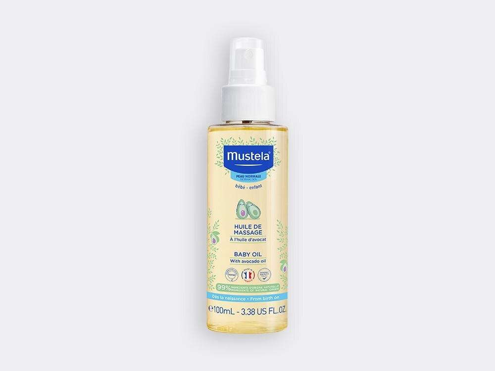 Mustela Baby Oil Λάδι για Μασάζ με Έλαιο Αβοκάντο 100ml