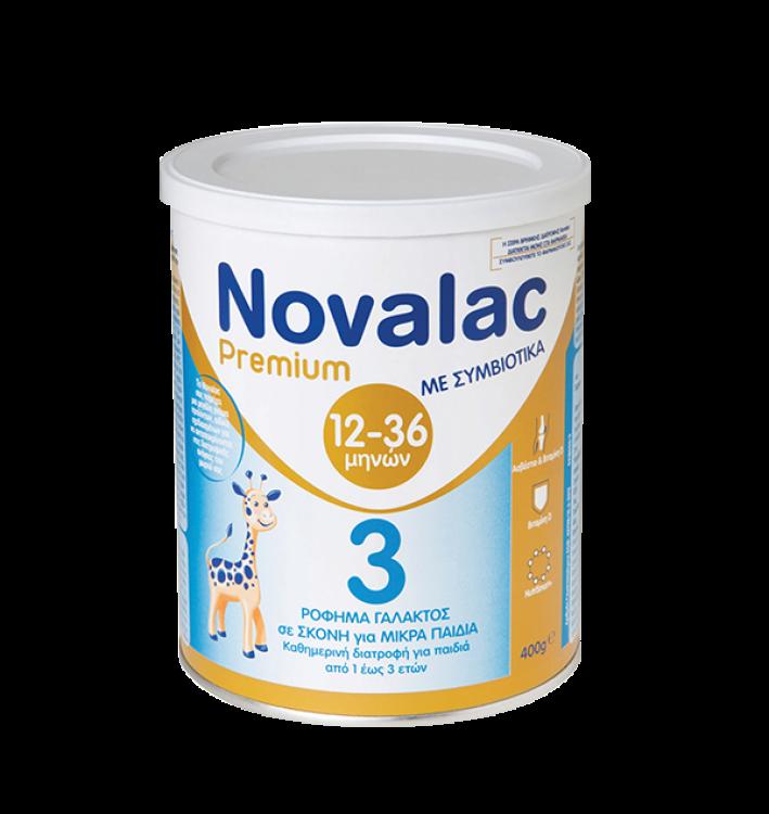 Novalac Premium 3 Γάλα 3ης Βρεφικής Ηλικίας από 1 έτους 400gr