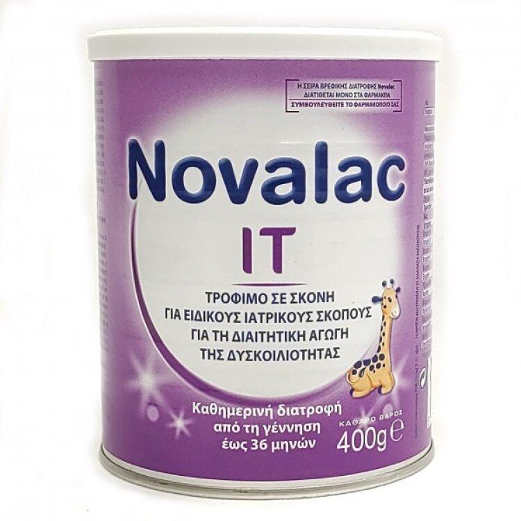 Novalac It Γάλα Σε Σκόνη Από 0-36μηνών 400g