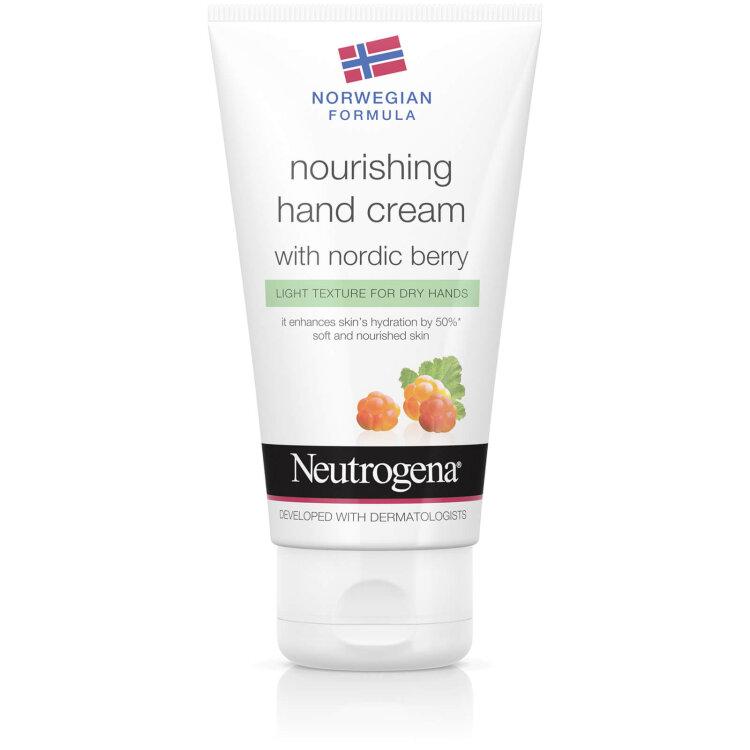 Neutrogena Nourishing Hand Cream with nordic berry 75ml