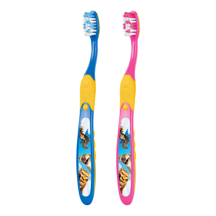 Elgydium Junior Ice Age Toothbrush Οδοντόβουρτσα για παιδιά ηλικίας 7 έως 12 ετών, 1 τεμάχιο