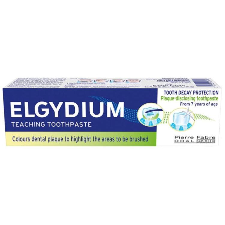 Elgydium Εκπαιδευτική Οδοντόκρεμα 50ml - Χρωματίζει την Οδοντική Πλάκα