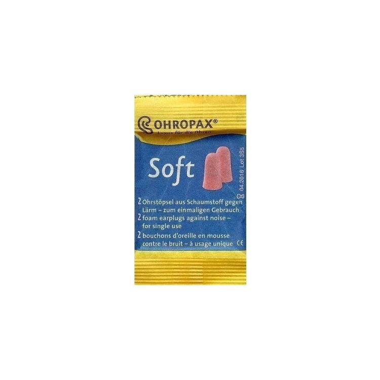 Ohropax Soft Αφρώδεις Ωτοασπίδες για το θόρυβο, 2 τεμάχια