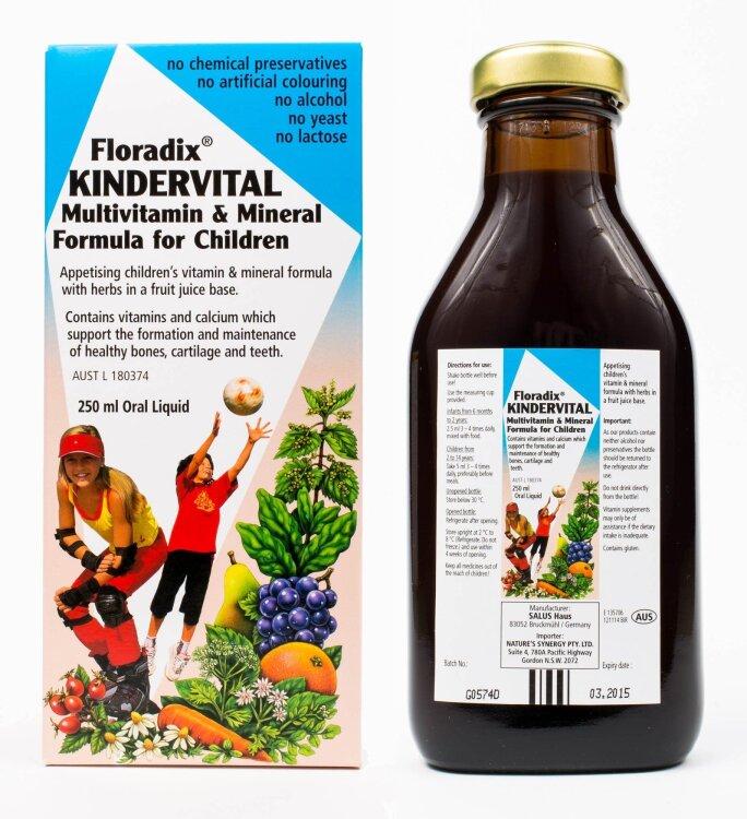 Power Health Floradix Kindervital Σιρόπι για Παιδιά 250ml