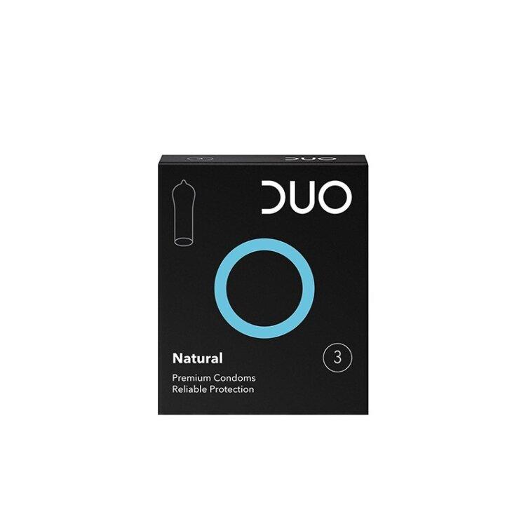 Duo Natural Προφυλακτικά 3τμχ