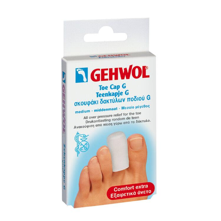 Gehwol Toe Cap G Medium Σκουφάκι Δακτύλων Ποδιού G 2τεμάχια