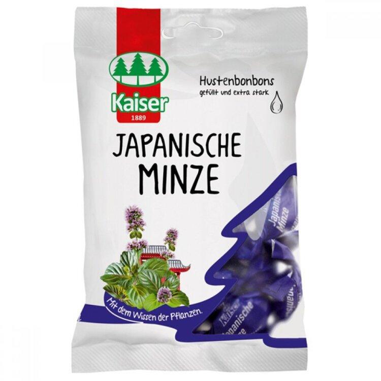 Kaiser Japanische Minze Καραμέλες για τον Βήχα με Έλαιο Ιαπωνικής Μέντας 75gr
