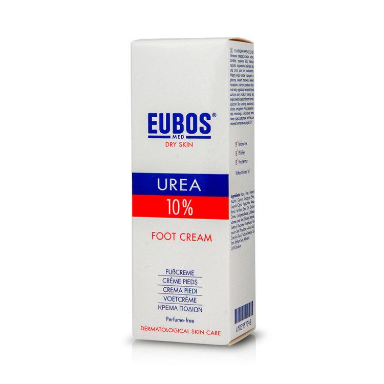 Eubos Urea 10% Foot Cream, Κρέμα Ποδιών 100ml