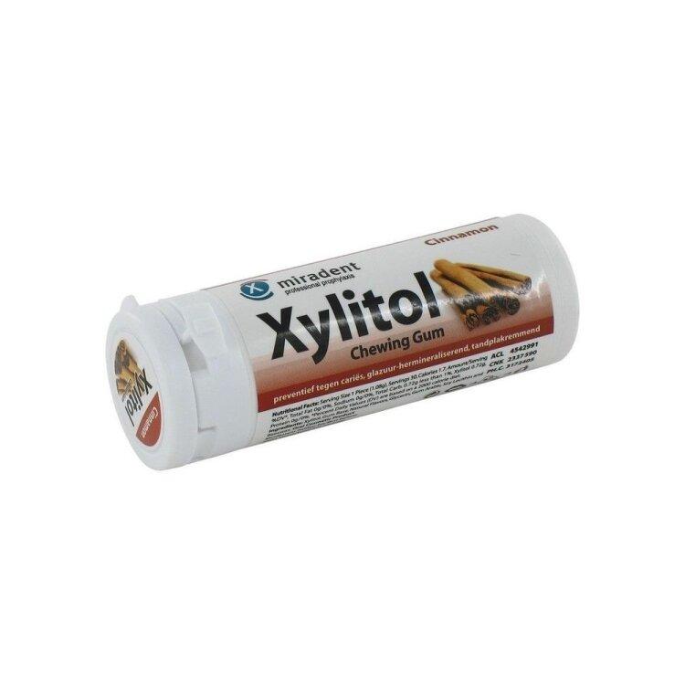 Miradent Οδοντότσιχλα Χylitol με Γεύση Κανέλλας