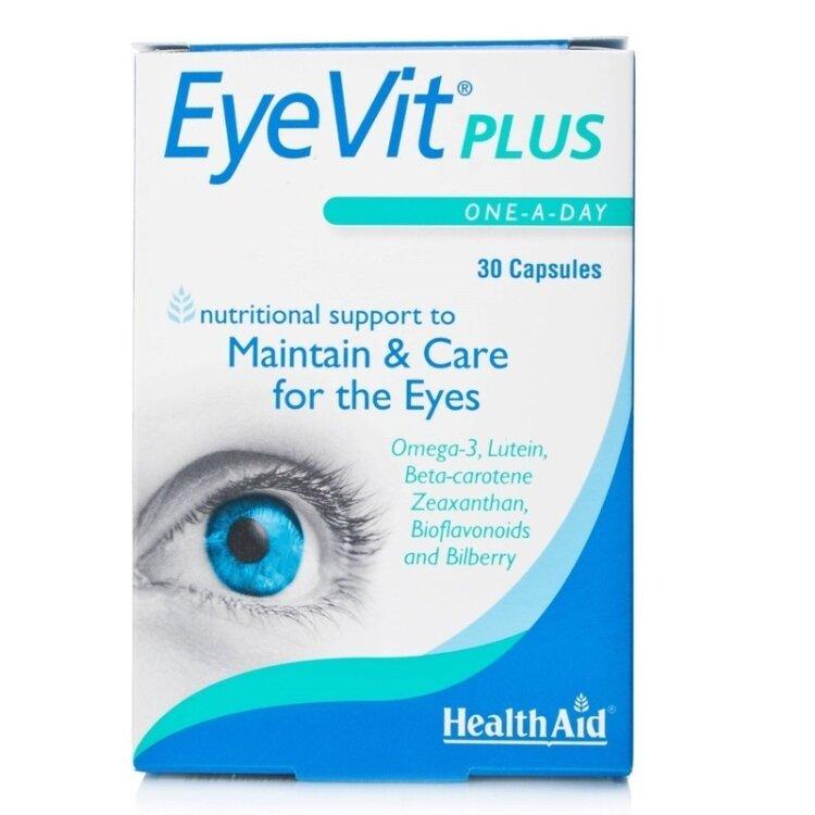 Health Aid Eyevit Ρlus 30 κάψουλες