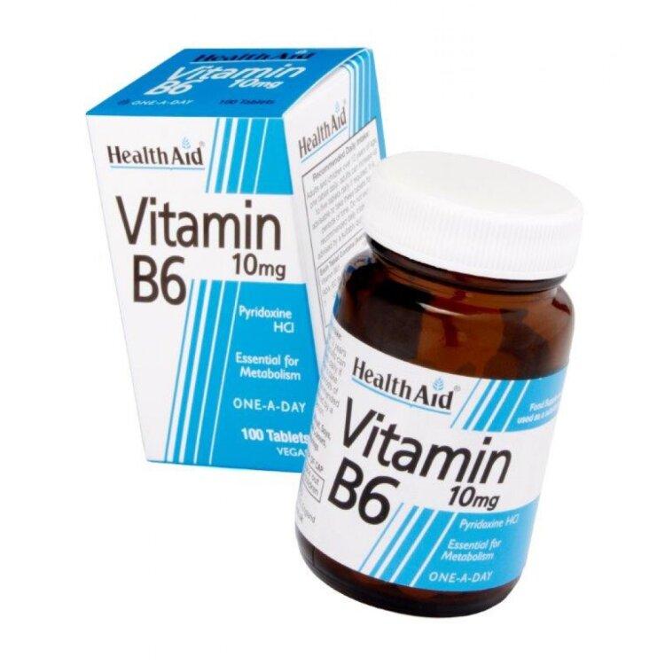 Health Αid B6 Vitamin 100mg 90 ταμπλέτες
