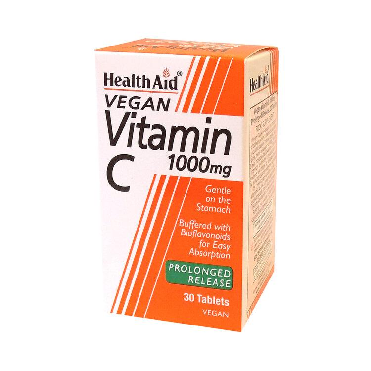 Health Aid Vitamin C 1000mg 30ταμπλέτες