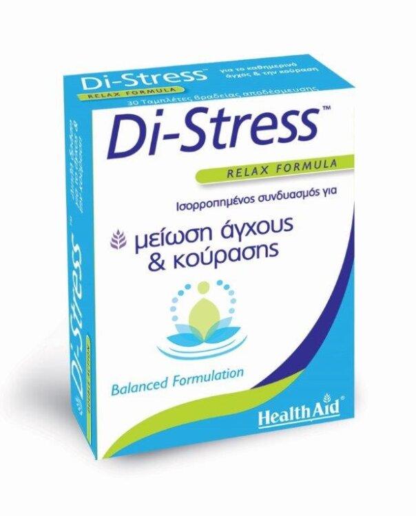 Health Aid Di-Stress Relax Formula 30Tablets