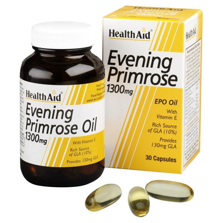 Health Aid Evening Primrose Oil 1000mg 30 κάψουλες