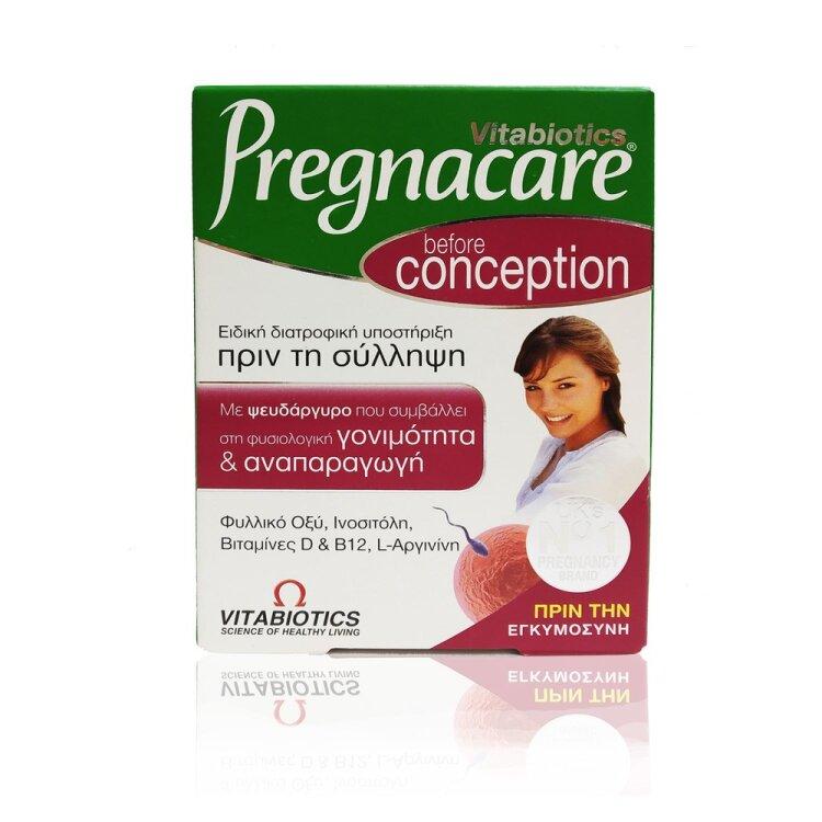 Vitabiotics Pregnacare Conception Συμπλήρωμα για Γυναίκες 30 tabs