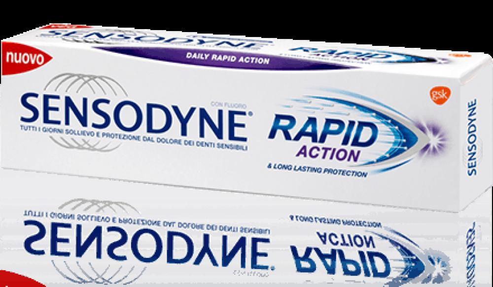 Sensodyne Rapid Action Οδοντόκρεμα για Ευαίσθητα Δόντια 75ml
