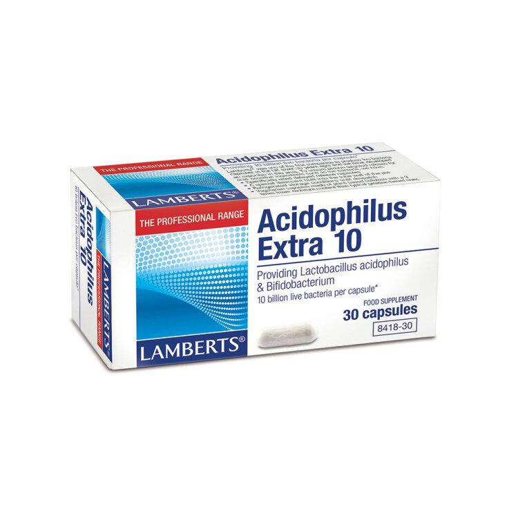 Lamberts Acidophilus Extra 10 (Milk Free) 30caps