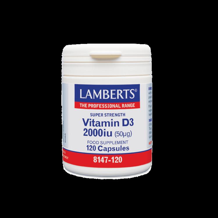 Lamberts Vitamin D 2000iu 120caps