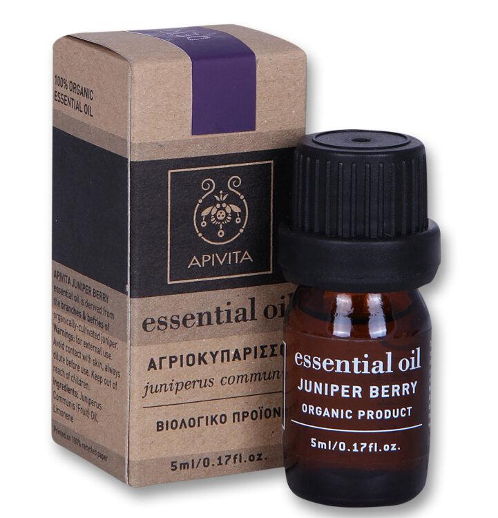 Apivita Juniper - Αγριοκυπάρισσο 5ml