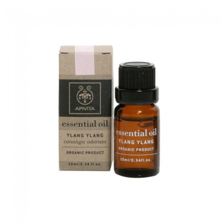 Apivita Essential Oil, Αιθέριο Έλαιο Υλανγκ Υλανγκ 10ml