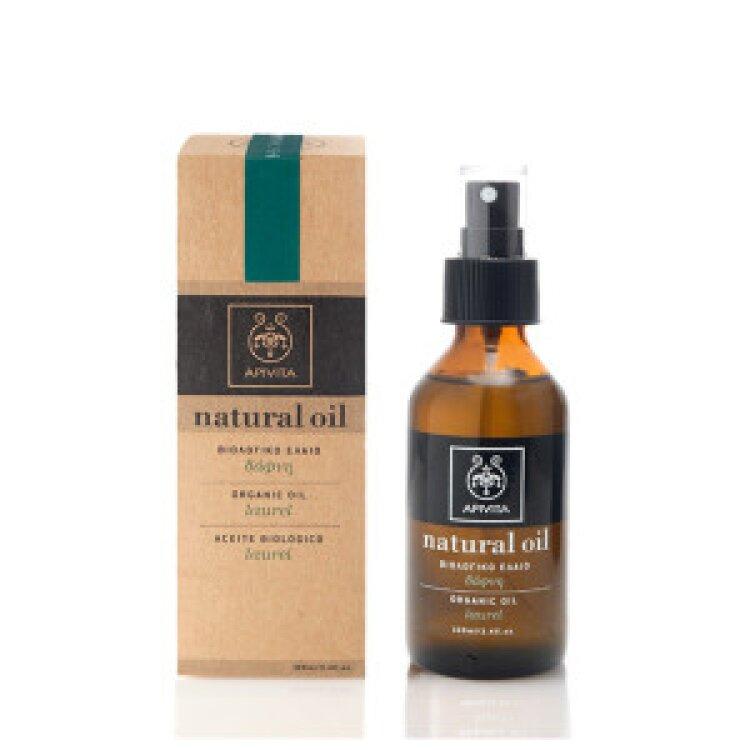 Apivita Natural Oils Φυτικό Έλαιο με Δάφνη 100ml
