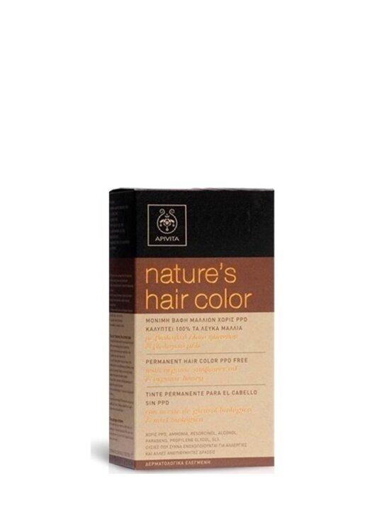 Apivita Nature's Hair Color Νο5.7 Καστανό Ανοιχτό Μπεζ