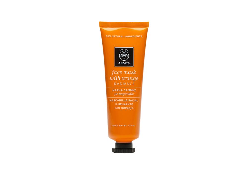 Apivita Face Mask with Orange Radiance Μάσκα Λάμψης με Πορτοκάλι 50ml