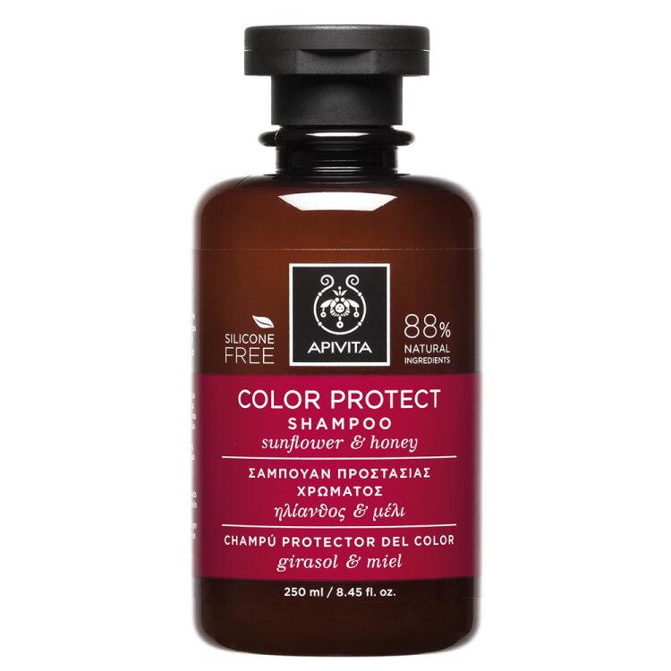 Apivita Σαμπουάν Προστασίας Χρώματος Ηλίανθος & Μέλι 250ml