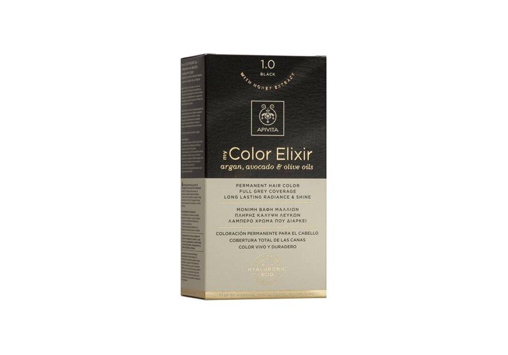 Apivita My Color Elixir No1,0 φυσικό μαύρο 50&75ml