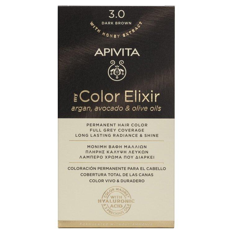 Apivita My Color Elixir N3,0 Καστανό Σκούρο