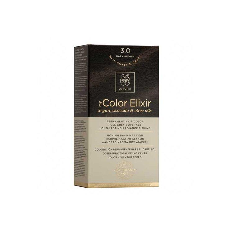 Apivita My Color Elixir No3,0 καστανό σκούρο 50&75ml