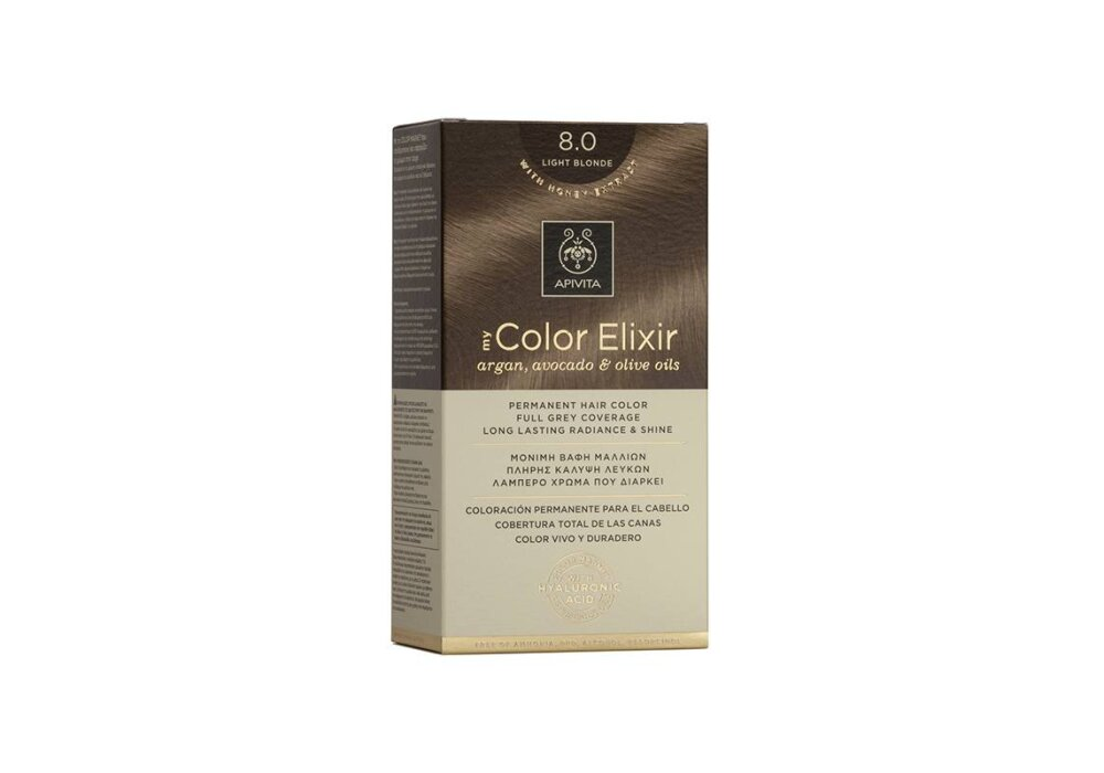 Apivita My Color Elixir No8,0 ξανθό ανοιχτό 50&75ml