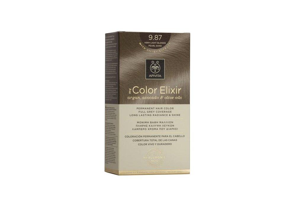 Apivita My Color Elixir No9,87 ξανθό πολύ ανοιχτό περλέ μπεζ 50&75ml