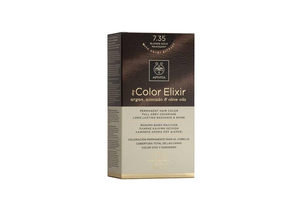 Apivita My Color Elixir No7,35 ξανθό μελί μαονί 50&75ml