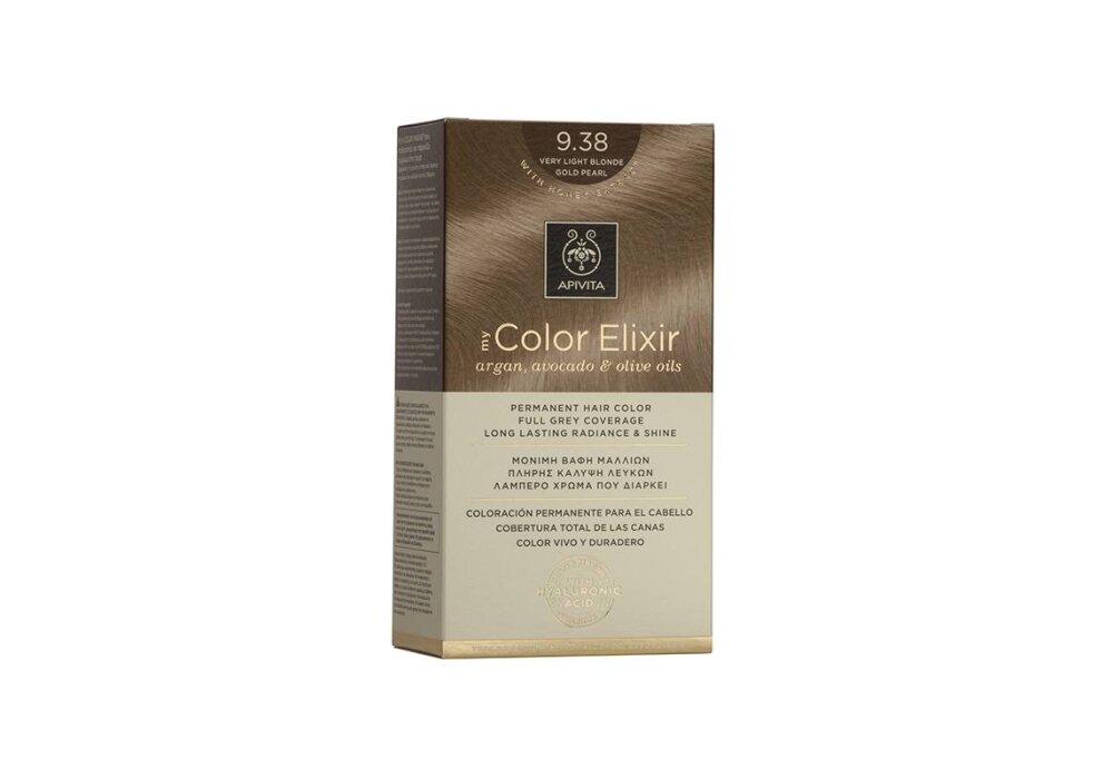 Apivita My Color Elixir No9,38 ξανθό πολύ ανοιχτό μελί περλέ 50&75ml