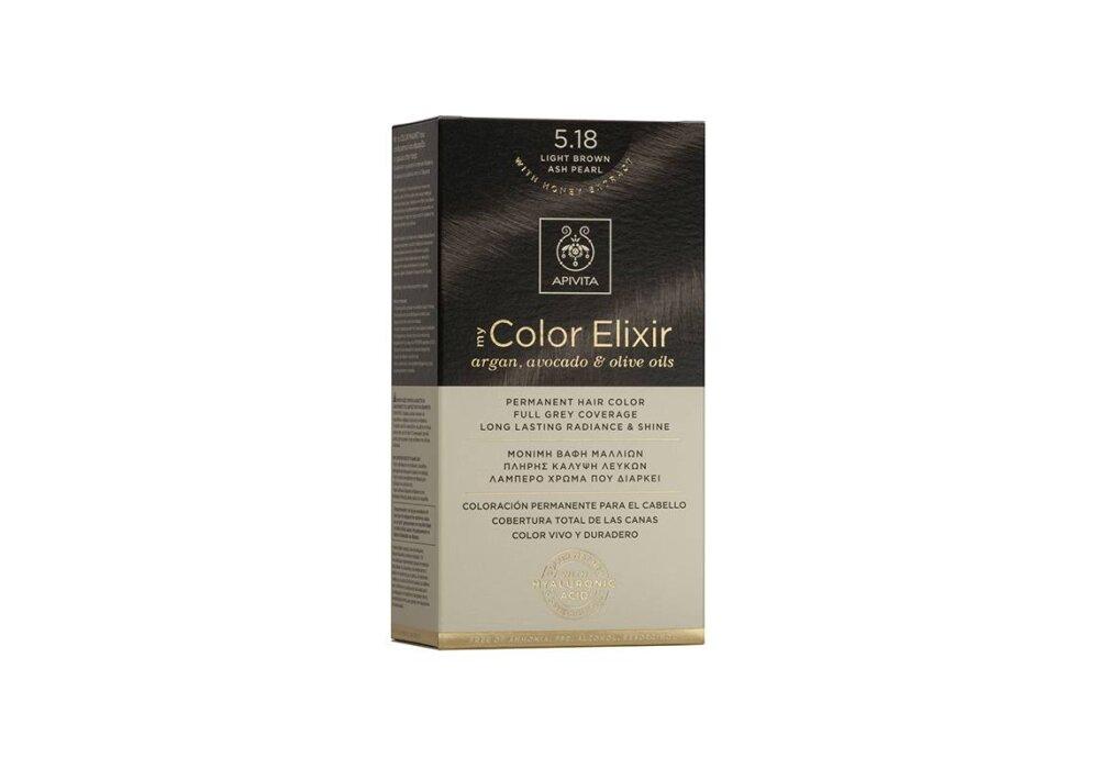 Apivita My Color Elixir No5,18 καστανό ανοιχτό 50&75ml