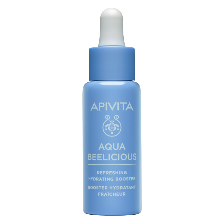 Apivita Aqua Beelicious Booster Αναζωογόνησης και Ενυδάτωσης, με Λουλούδια & Μέλι 30ml