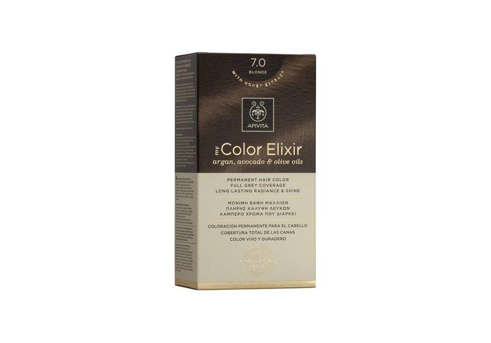 Apivita My Color Elixir Βαφή Μαλλιών 7.0 Ξανθό