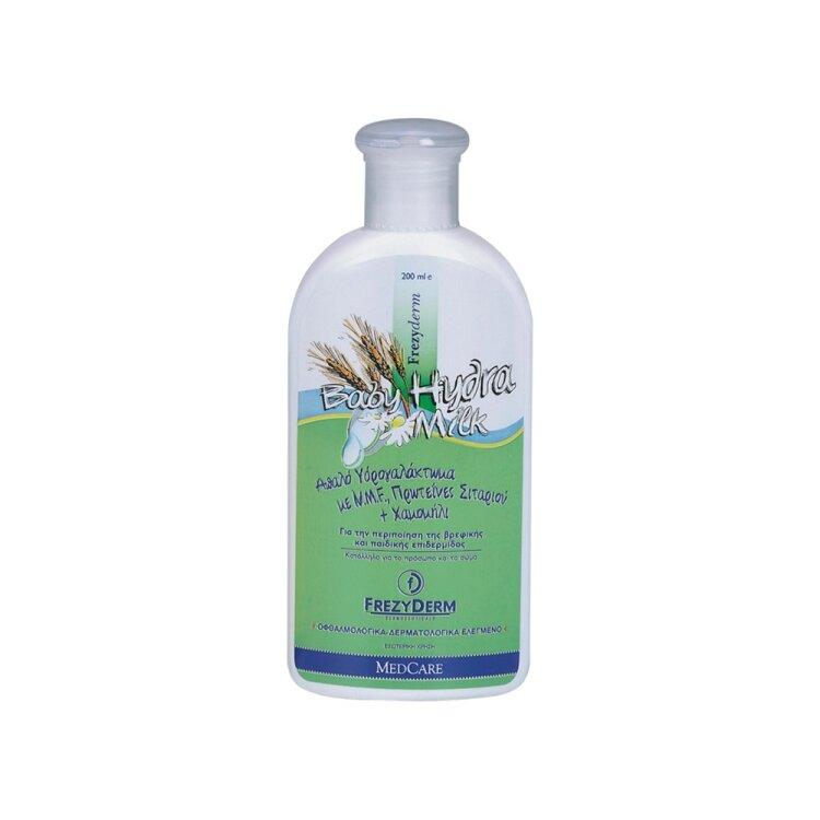 Frezyderm Baby Hydra Milk Ενυδατικό Γαλάκτωμα Κατάλληλο για το Ξηρό, Ερεθισμένο & Ευαίσθητο Δέρμα 200ml