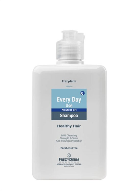 Frezyderm Every Day Shampoo, Σαμπουάν Καθημερινής Χρήσης 200ml