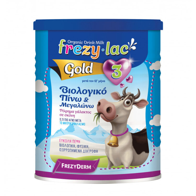 Frezylac Gold 3 Βιολογικό Ρόφημα σε Σκόνη από 12 μηνών 400gr