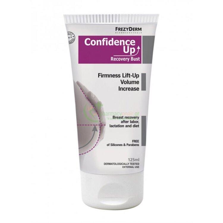 Frezyderm Confidence Up Recovery Bust, Σύσφιξη Ανόρθωση Αύξηση Όγκου του Στήθους 125ml
