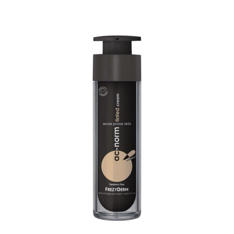 Frezyderm Ac-Norm Tinted Cream, Σμηγματορυθμιστική Κρέμα με Χρώμα 50ml