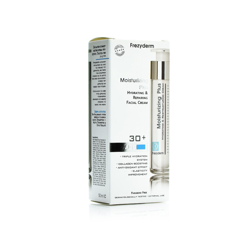 Frezyderm Moisturizing Plus Cream Κρέμα Εντατικής Ενυδάτωσης & Αντιγήρανσης 30+ 50ml