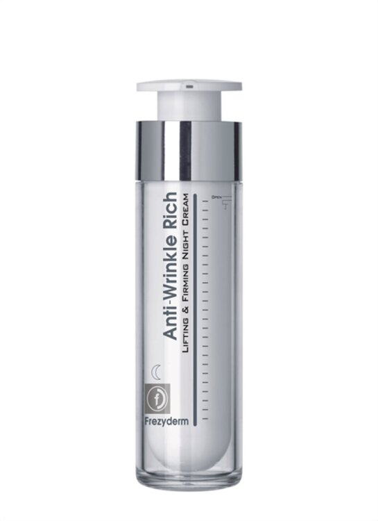 Frezyderm Anti-Wrinkle Rich Night Cream 45+ Αντιρυτιδική Κρέμα Νύχτας Με Συσφικτική Ανορθωτική Δράση 50ml