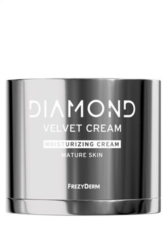 Frezyderm Diamond Velvet Moisturizing Cream Mature Skin - Ενυδατική Κρέμα Προσώπου για Ώριμο Δέρμα 50ml